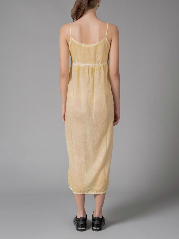 UN-NAMABLE DYED SLIP DRESS