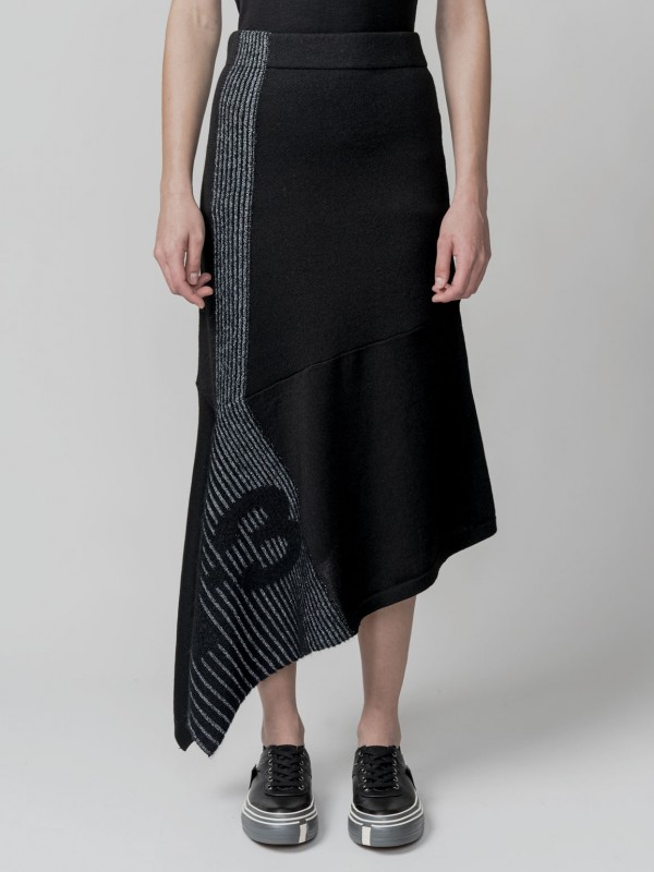 Y-3 ENG KNIT SKIRT