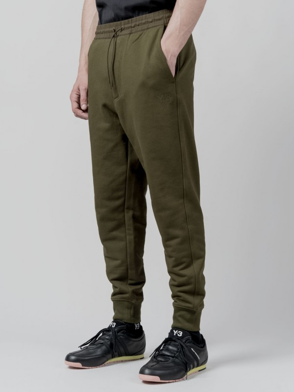 Y-3 CLASSIC TERRY CUFFED TRACK PANTS