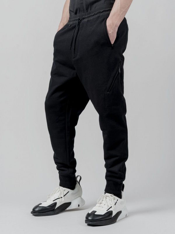Y-3 CLASSIC TERRY UTILITY JOGGERS