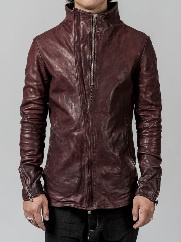 Incarnation leather jacket