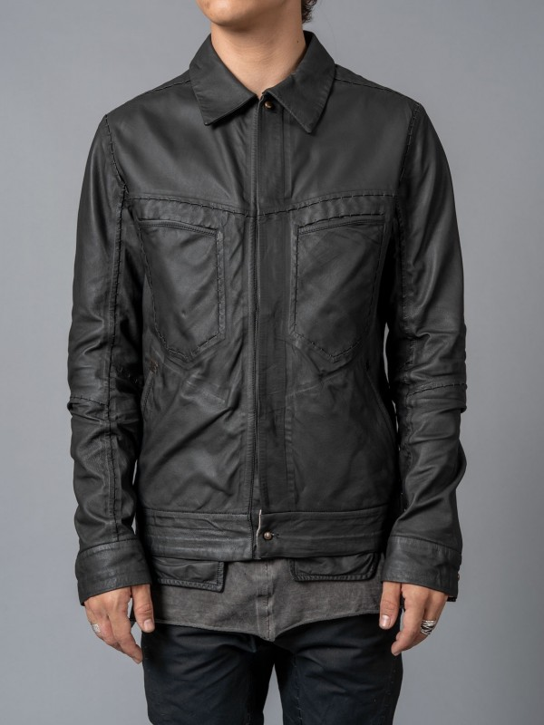 ISAAC SELLAM REFRACTAIRE-PLU JACKET
